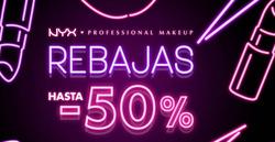 Cupón NYX Cosmetics en Barcelona ( 20 días más )