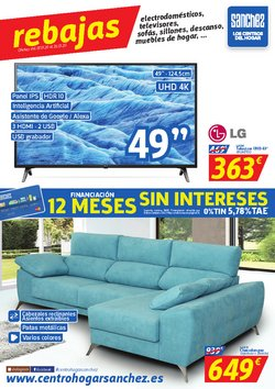 Ofertas de Hogar y Muebles  en el folleto de Centro Hogar Sanchez en Antequera
