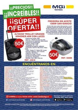 Ofertas de Freidora en Tiendas MGI