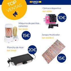 Catálogo Tiendas MGI ( 3 días más)