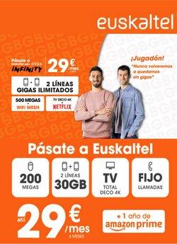 Ofertas de Euskaltel en el catálogo de Euskaltel ( Caducado)