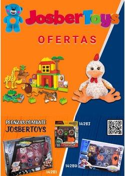 Ofertas de mochilas escolares en el catálogo de Josber Toys ( Publicado ayer)