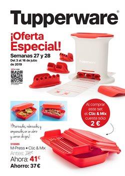 Ofertas de Hogar y muebles  en el folleto de Tupperware en Portugalete