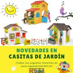 Ofertas de Juguetes y Bebés en el catálogo de Jugueterías Nikki ( 12 días más)