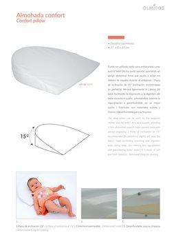 Ofertas de Almohada de bebé  en el folleto de Olmitos en Madrid