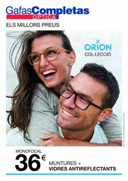 Ofertas de Gafas Completas  en el folleto de Barcelona