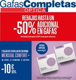 Ofertas de Salud y Ópticas en el catálogo de Gafas Completas ( Más de un mes)