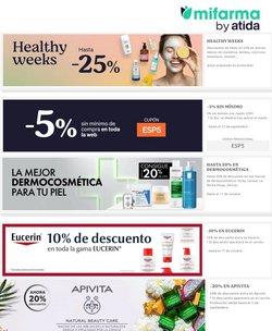 Ofertas de Salud y Ópticas en el catálogo de MiFarma ( Caduca hoy)