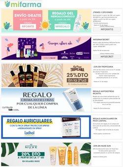 Ofertas de Salud y Ópticas en el catálogo de MiFarma ( Publicado ayer )