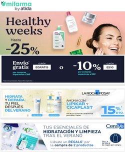 Ofertas de Salud y Ópticas en el catálogo de MiFarma ( Publicado ayer)