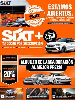 Ofertas de SIXT en el catálogo de SIXT ( Caducado)