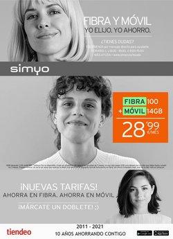 Catálogo Simyo ( 24 días más)