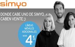 Catálogo Simyo ( 5 días más)