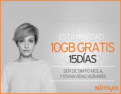 Ofertas de Simyo  en el folleto de Madrid