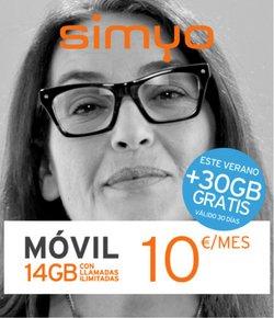 Catálogo Simyo ( Más de un mes)