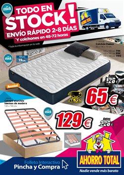 Ofertas de Hogar y muebles  en el folleto de Ahorro Total en Ávila