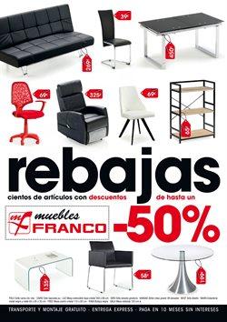 Ofertas de Muebles Franco  en el folleto de Lugo