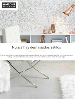 Ofertas de Maisons du Monde  en el folleto de Barcelona