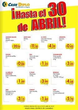 Ofertas de CashDiplo  en el folleto de Santa Cruz de Tenerife