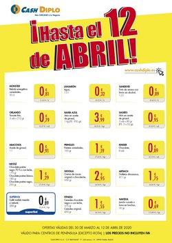 Ofertas de Hiper-Supermercados en el catálogo de CashDiplo en Chipiona ( Publicado ayer )