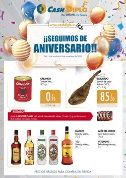 Ofertas de Hiper-Supermercados en el catálogo de CashDiplo en Pulianas ( 15 días más )