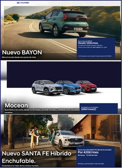 Ofertas de Hyundai en el catálogo de Hyundai ( 7 días más)