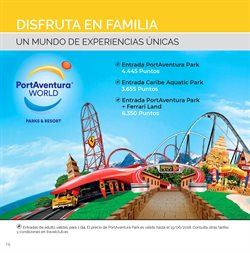 Ofertas de Port Aventura  en el folleto de Travel Club en Madrid