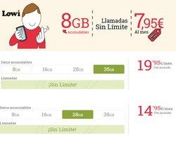 Ofertas de Informática y Electrónica en el catálogo de Lowi ( 3 días más)