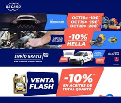 Ofertas de Coches, Motos y Recambios en el catálogo de Oscaro ( 3 días más)