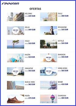 Ofertas de Finnair  en el folleto de Madrid