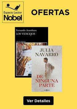 Ofertas de libros de texto en el catálogo de Librerías Nobel ( Publicado hoy)