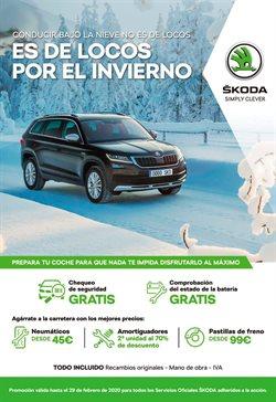 Ofertas de Coches, Motos y Recambios  en el folleto de Skoda en Segovia