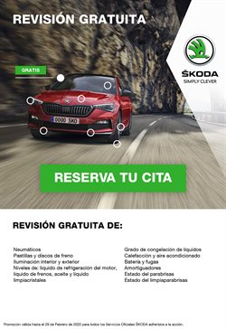 Ofertas de Coches, Motos y Recambios en el catálogo de Skoda en Mutxamel ( 11 días más )