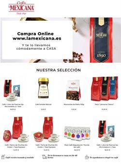 Catálogo Cafés La Mexicana en Madrid ( 2 días más )