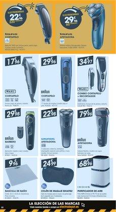 Ofertas de Máquina de afeitar en Electro Depot