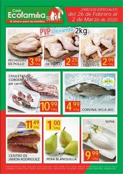 Ofertas de Hiper-Supermercados en el catálogo de Cash Ecofamilia en Toledo ( 3 días más )