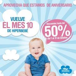Ofertas de Juguetes y Bebés en el catálogo de Hiperbebe ( 6 días más)