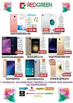 Ofertas de IPhone  en el folleto de RedGreen en Palamos