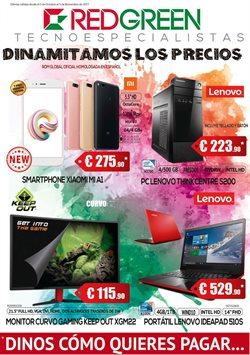 Ofertas de Xiaomi  en el folleto de RedGreen en Madrid