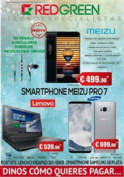 Ofertas de Lenovo  en el folleto de RedGreen en Alcalá de Henares