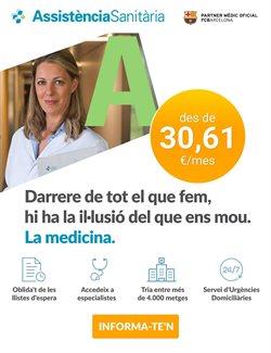 Ofertas de Salud y ópticas  en el folleto de Assistència Sanitària en Barcelona