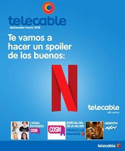 Ofertas de Telecable  en el folleto de Oviedo