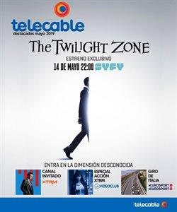 Ofertas de Telecable  en el folleto de Gijón