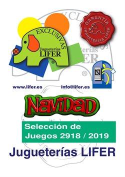 Ofertas de Jugueterías Lifer  en el folleto de San Cristobal de la Laguna (Tenerife)