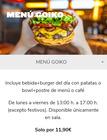 Cupón Goiko Grill en Ubrique ( Más de un mes )
