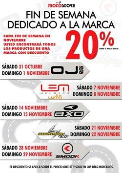 Ofertas de Moto Store  en el folleto de Madrid