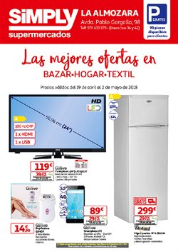 Ofertas de Simply Basic  en el folleto de Bakio