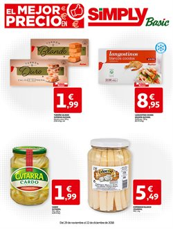 Ofertas de Simply Basic  en el folleto de Madrid