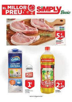 Ofertas de Simply Basic  en el folleto de Sant Cugat del Vallès