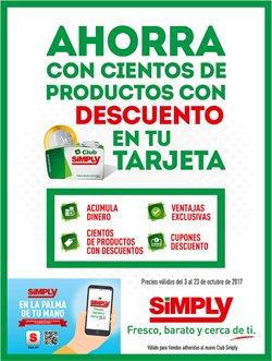 Ofertas de Hiper Simply  en el folleto de Madrid